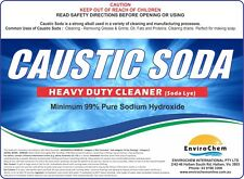 Caustic Soda 5kg, DrainCleaner, Soap Making, Soda Lye, Sodium Hydroxide Pearl