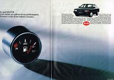 PUBLICITE ADVERTISING 094  1990  AUDI 100  TDI ( 2 pages)