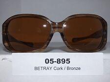 05-895 Women's Oakley Betray Sunglasses Cork / Bronze NWOT