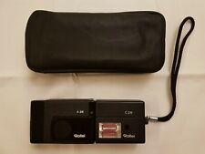 Antiker Fotoapparat Rollei A26 mit Blitz C26 und Schutztasche