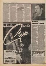 Gillan Trouble Advert NME Cutting 1980
