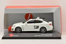 LEXUS IS-F 2009 ROLEX MONTEREY SAFETY CAR Jcollection 1/43 NEUF EN BOITE