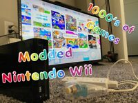 Nintendo Wii w/ 144 Wii And GameCube Games + Extras!