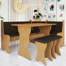 Eckbank mit Tisch Thomason Sitzgruppe Küche Polsterung Hocker Essgruppe