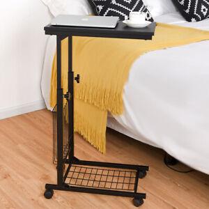 Laptoptisch Beistelltisch Notebooktisch Betttisch Pflegetisch höhenverstellbar
