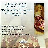 Glazunov;Violin Concerto, Klein, Lpo, Udagawa, Good Used CD