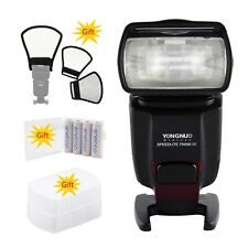 Yongnuo YN-560IV Wireless Trigger Kit Speedlite Flash fr Canon Nikon+3 Gift
