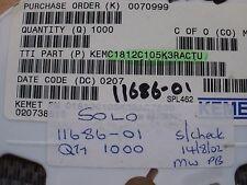 Condensador de SMT 1812 1uf 25 V X7R 1812C105K3RAC 10% 30 piezas Z681