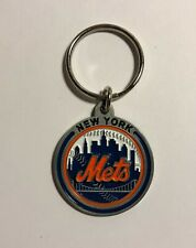 New York Mets Officially Licensed Sculpted Round Keychain NWT MLB