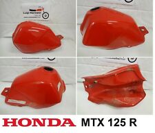 Serbatoio benzina petrol fuel tank HONDA MTX 125 R - rosso red 2
