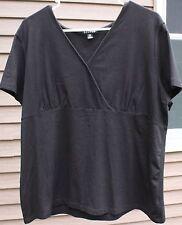 Woman's Black Shirt by George; Size: XL (16-18)