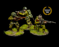 ⭐️Bolt Action Allies WWII 28mm Wargame American Rangers Painted Infantry  Squad