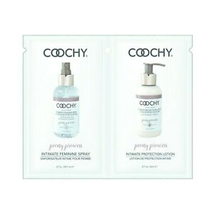 Coochy Intimate Feminine Spray and Protection Lotion Travel Foil Set Z14