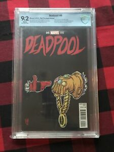 MARVEL DEADPOOL #45 RUN THE JEWELS SKOTTIE YOUNG VARIANT CBCS 9.2 Death Deadpool