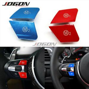 Steering Wheel M1 M2 Button For BMW M3 M4 M5 M6 X5M X6M F80 F10 F15 F20 F30 F32