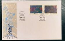 Finland FDC 1991.06.07. Europa Cept XXV Europe in Space - Satellites Astronauts