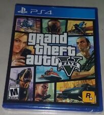 Grand Theft Auto V 5 - PlayStation 4 - Brand New & Sealed !!