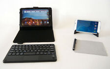 Mini Wireless Bluetooth Touchpad Keyboard Case for  Android Tablet & smartphone