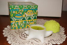 Avon 1972 Turtle Candle Garden Spice Fragrance W / Box
