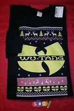 RARE Wu Tang Ugly Christmas Sweater MEN SZ 3XL Crewneck Sweatshirt NEW NWT !