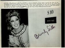 BEVERLY SILLS Signed Vintage Photo