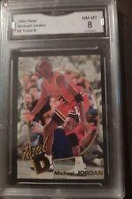 1992 Fleer Michael Jordan #5 Total D GMA 8 NM