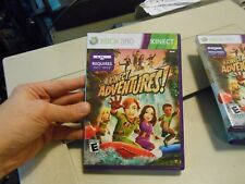 Kinect Adventures XBOX 360 Game (River Rush Rallyball Space Pop & Reflex Ridge)