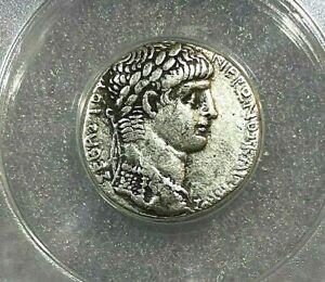 Nero 60-61 AD Roman AR Tetradrachm, Syria, Selcus, / Pieria   ANACS VF30