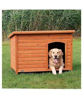 TRIXIE Pet Products Dog Club House for Large/XL Breed Dogs in Glazed Pine, 39553