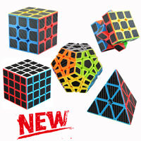 Z-cube 3x3 Magic Cube 2x2 4x4 Super Smooth Fast Speed Rubik Puzzle Rubics Rubix