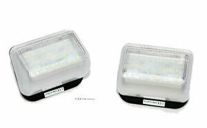 LED 18SMD für Mazda CX7 Kennzeichen Beleuchtung Nummernschild CAN-Bus 6000K A538