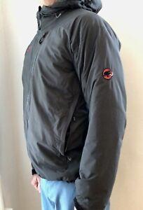 Mammut Tomyhoi Men's Insulated Hoodie Jacket Medium Graphite VGUC