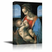 "Madonna Litta by Leonardo da Vinci Giclee Canvas Prints - 24"" x 36"""