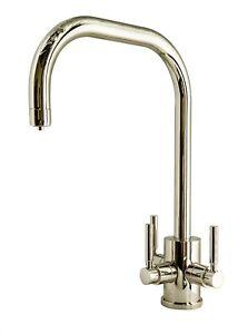 Triflow Original System – Churchill U Nickel finish 3 way filtered tap NIB