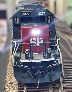 "OVERLAND MODELS BRASS HO SP SD40T-2 88"" NOSE #8277 w/LOKSOUD DCC/SOUND & LED's"