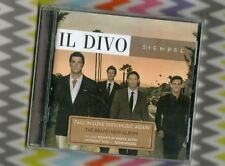 """IL DIVO [Without You/Nights in White Satin] """"Siempre"""" + Bonus Track """"Somewhere"""""""