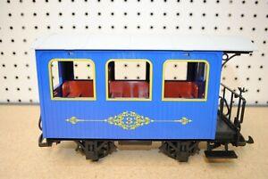 LGB/Lehmann Blue Third Class Passenger Car *G-Scale*