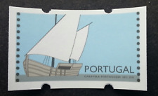 Portugal Sailing Ship 1993 ATM (frama label stamp) MNH *error print at gum *Rare