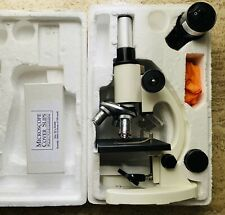 Student Biological Microscope By Radical Rm 1b With Illuminator Amp Cover Slips
