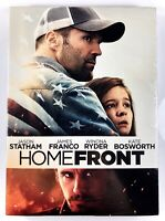 HOMEFRONT New✨Sealed✨ DVD Jason Statham James Franco Winona Ryder w/ Slip Cover!