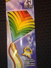 "X Kites ColorMax 25"" Nylon Diamond Kite ""Palm"" with Handle, Line & QuickClip"
