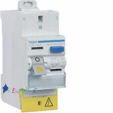 Interrupteur différentiel 2P25A 30 mA type AC auto bornes décalées Hager CDS722F