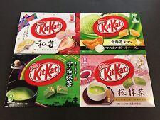 Limited Kit Kat Melon Sakura Uji Matcha Ichigo Chocolates KitKat Mini 3 Packs