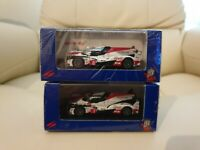 2x Spark 1:64 Toyota 2018 Le Mans winner & 2nd place Alonso #7 #8 Sparky