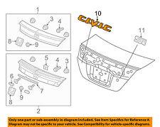 HONDA OEM 12-13 Civic Trunk Lid-Emblem Badge Nameplate 75722TS8A01
