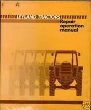 LEYLAND MARSHALL TRACTOR 602 604 702 704 802 804 MANUAL