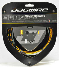Jagwire Mountain Elite Link Teflon Coated Brake Cable Kit GOLD Sram/Shimano MTB