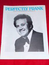 SINATRA - PERFECTLY FRANK #191 June 1985