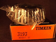 Timken 3193, Tapered Roller Bearing Cone