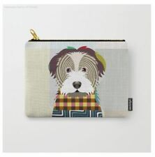 Wallet Havanese Pouch Zipper Bag Fabric Printed Purse Dog Lover Canine Puppy